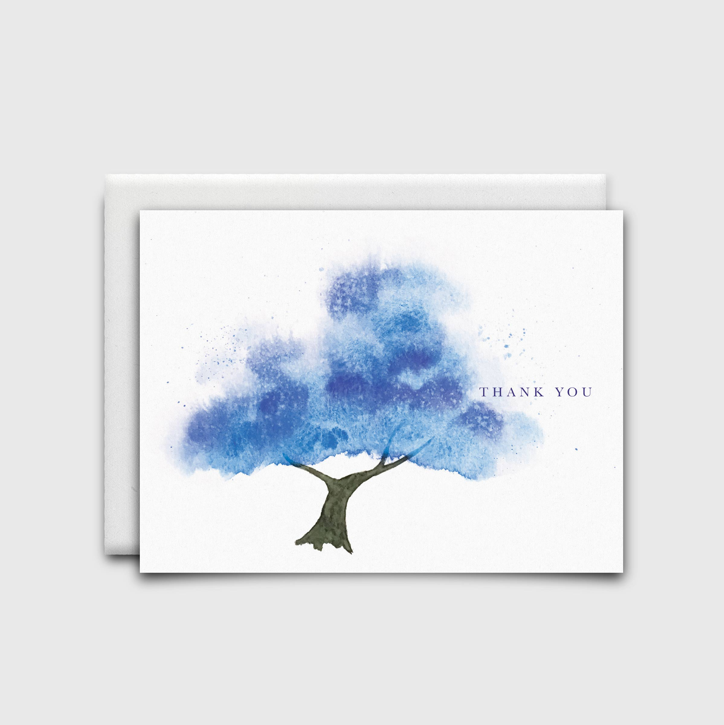 Stationery: Blue Tree