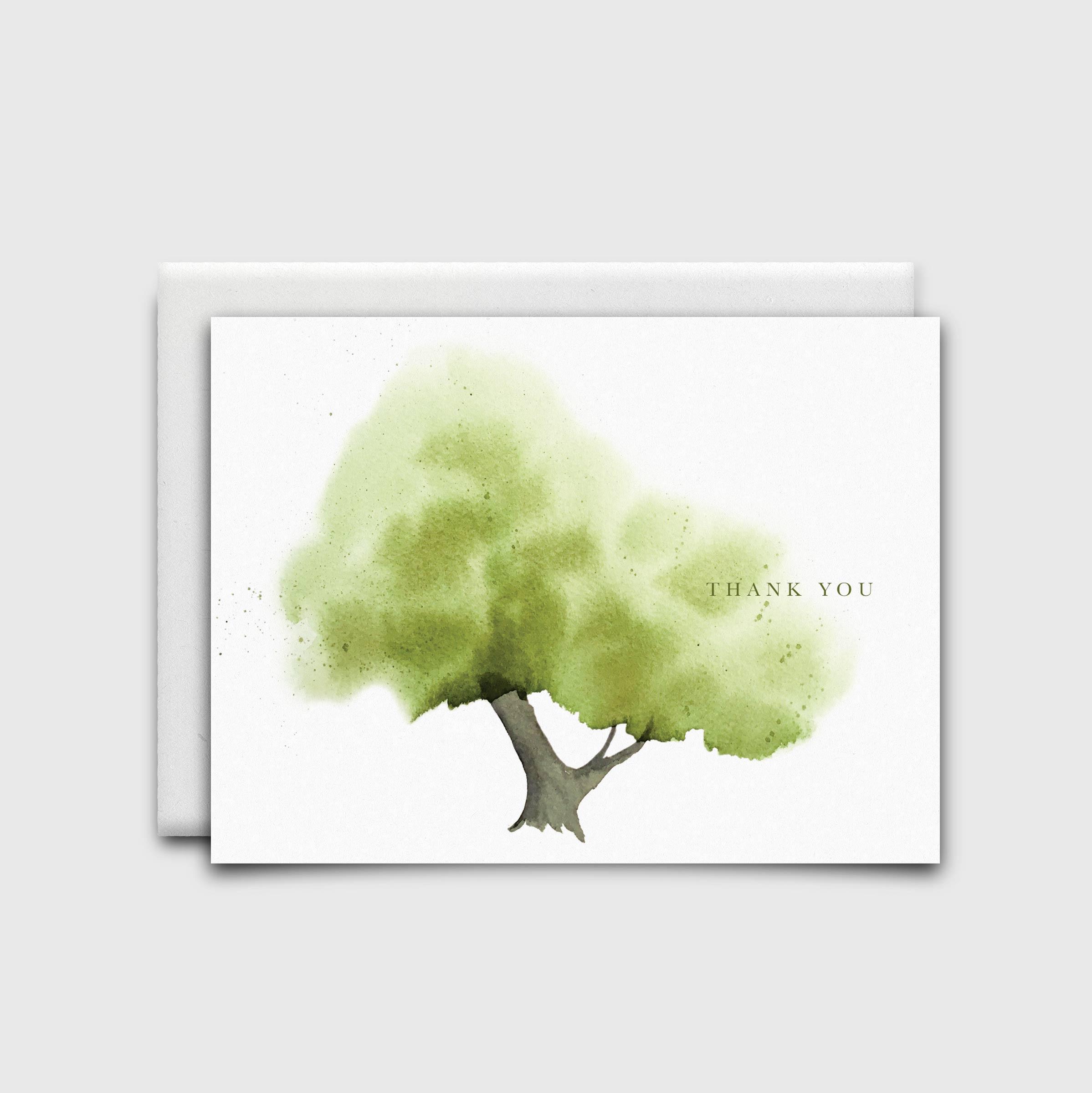 Stationery: Green Tree