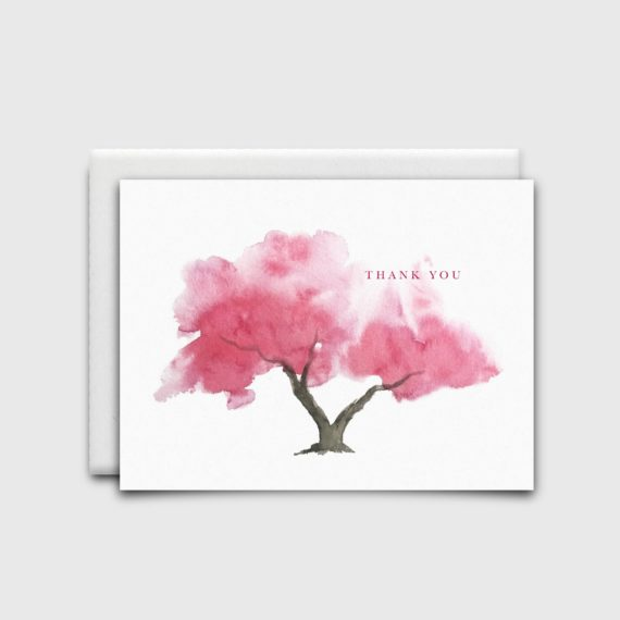 NatalieTrainor_Shop_Stationery Pink Tree
