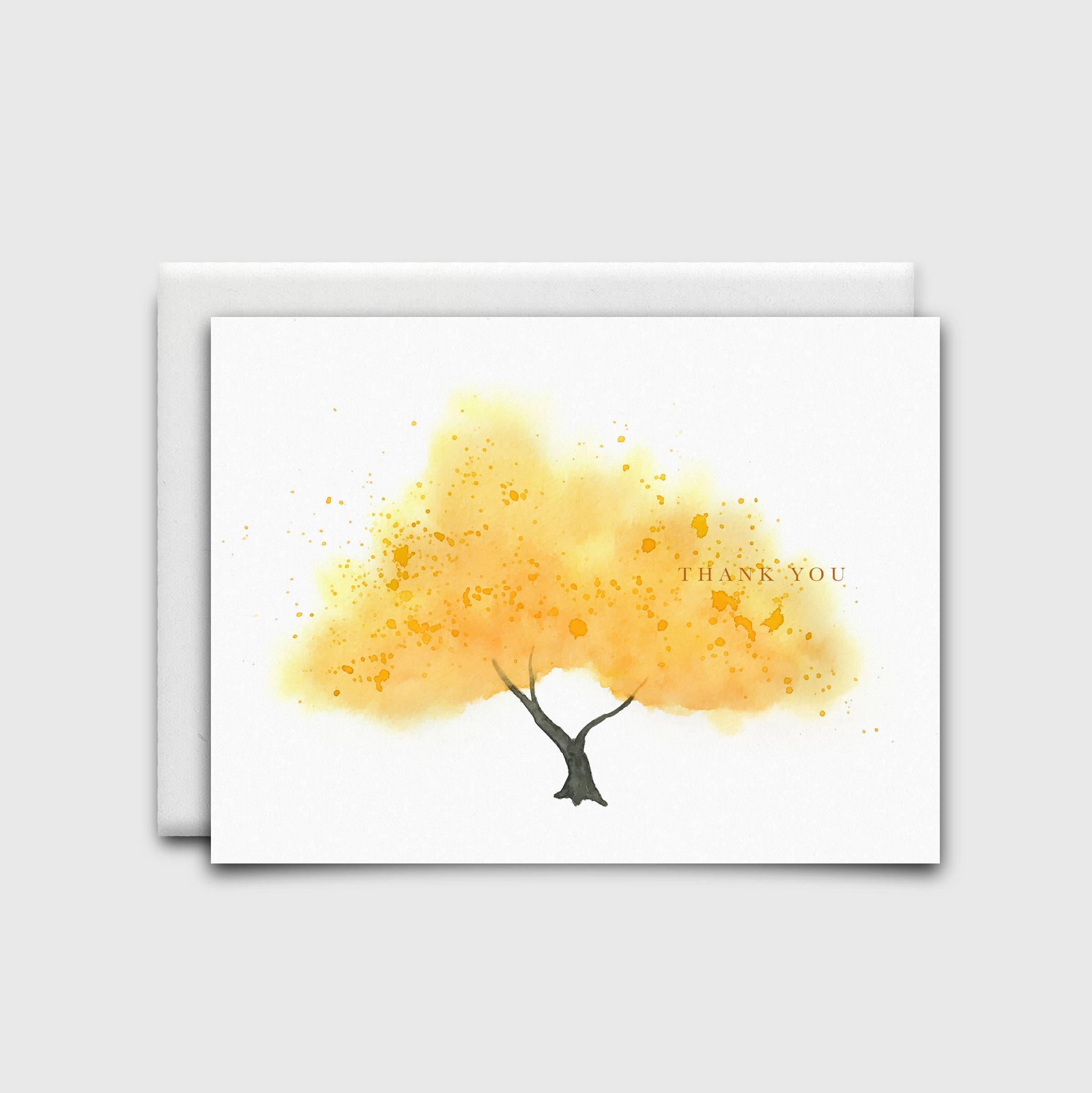 NatalieTrainor_Shop_Stationery Yellow Tree