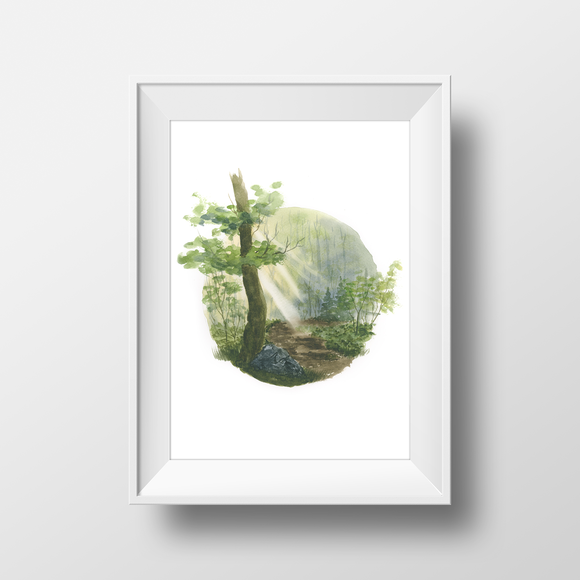 Art Print: Forest Path