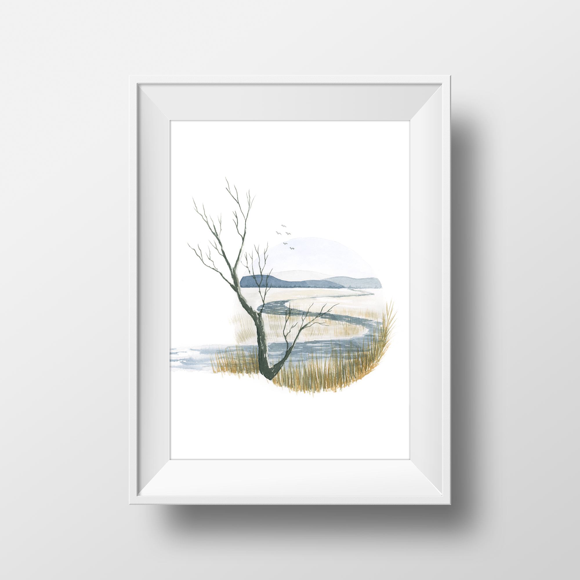 Art Print: Prairie River