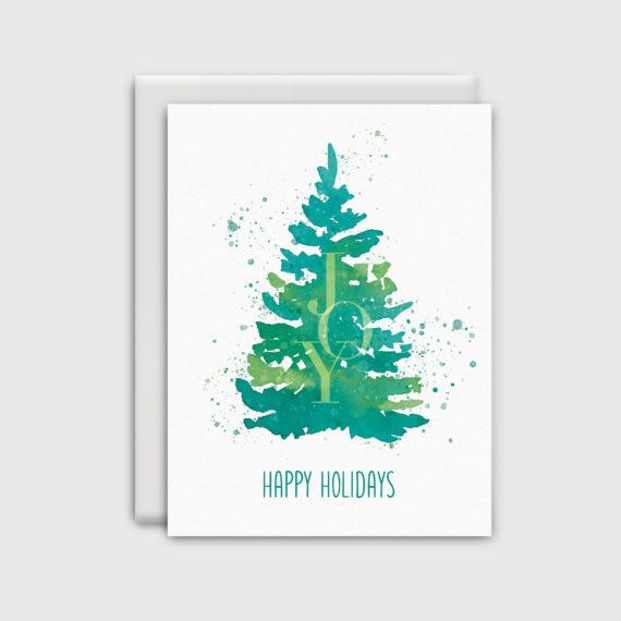 NatalieTrainor_Shop_Xmas Stationery Green Tree