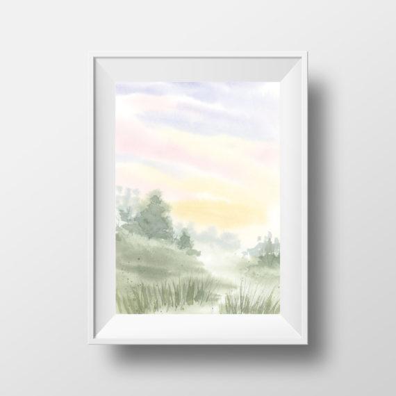 NatalieTrainor_Shop_Morning Landscape