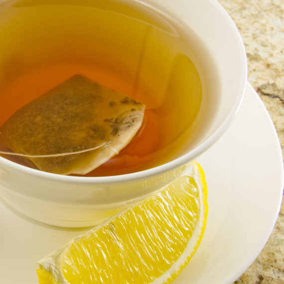 photograph of a cup of tea