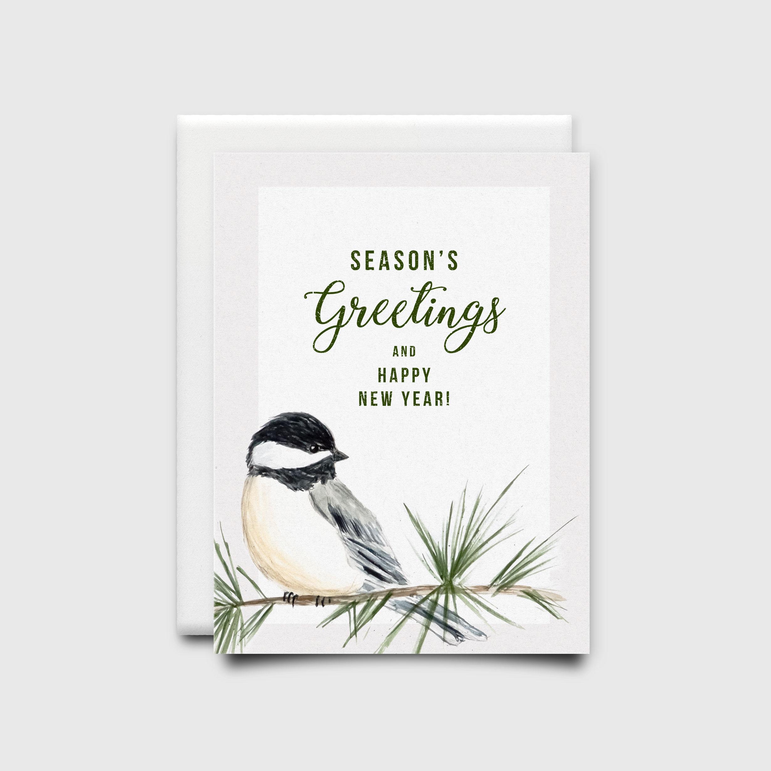 NatalieTrainor_Shop_Xmas Stationery Bird